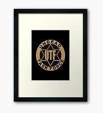 UTF – Undead Task Force, Caity Lotz Framed Print