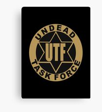 UTF – Undead Task Force, Caity Lotz Canvas Print