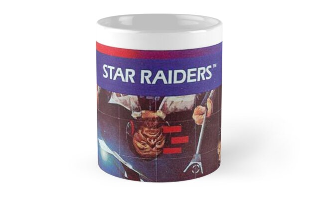 Star Raiders Gamer Mug