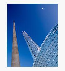News Points @londonlights Photographic Print