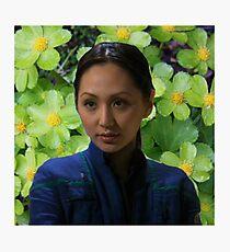 Floral Hoshi Sato Photographic Print