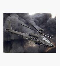 British Army Apache Photographic Print