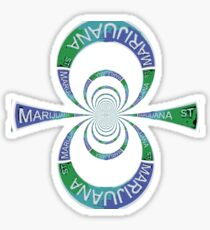 Marijuana St. Sticker