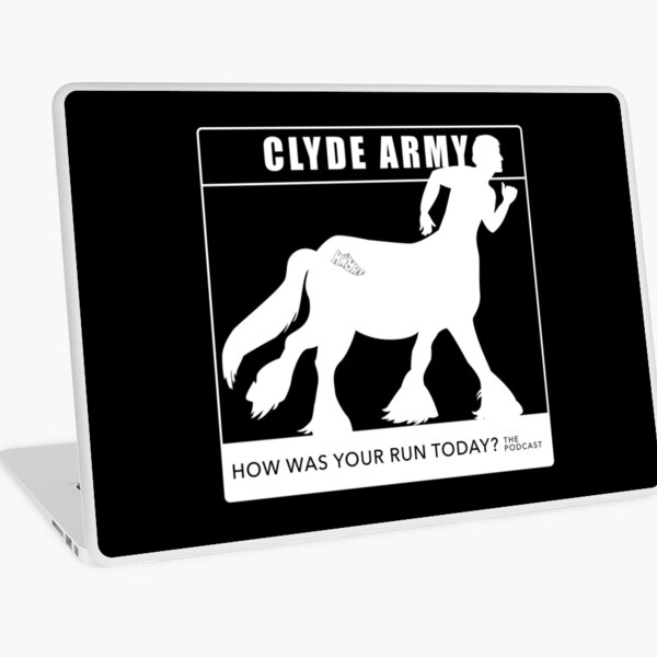 Clyde Army 2016/white Laptop Skin
