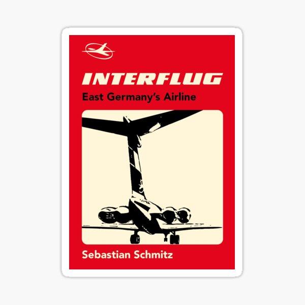 Interflug - East Germany's Airline  Sticker