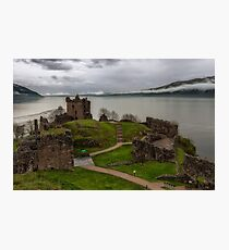 Urquhart Castle on Loch Ness 3 Photographic Print