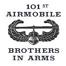 Airmobile Wings - 101st Airmobile - Brothers in Arms by Buckwhite