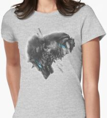 Contrast Women's Fitted T-Shirt