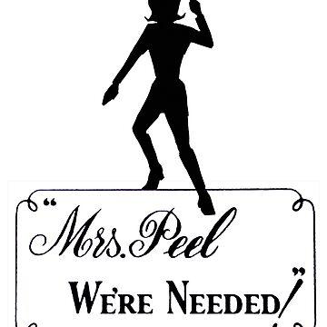 Mrs Peel - We're Needed! by peacockpete