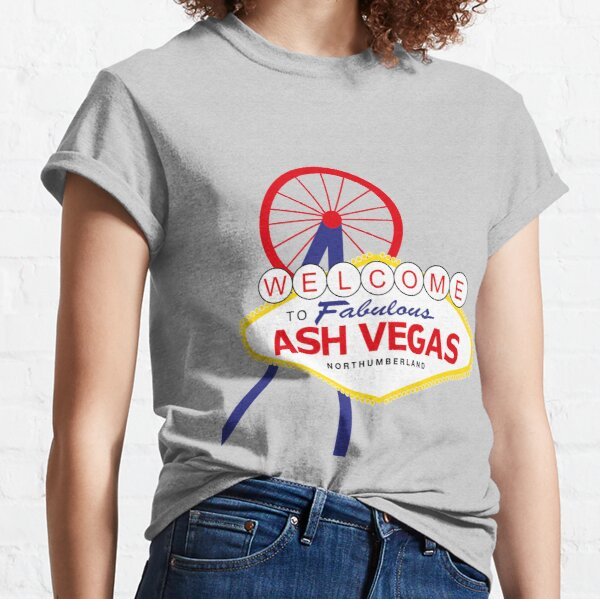 Welcome to Ash Vegas - Ashington Classic T-Shirt