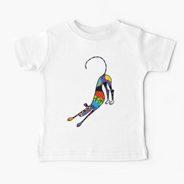 Kaleidoscope Bowdown Baby T-Shirt