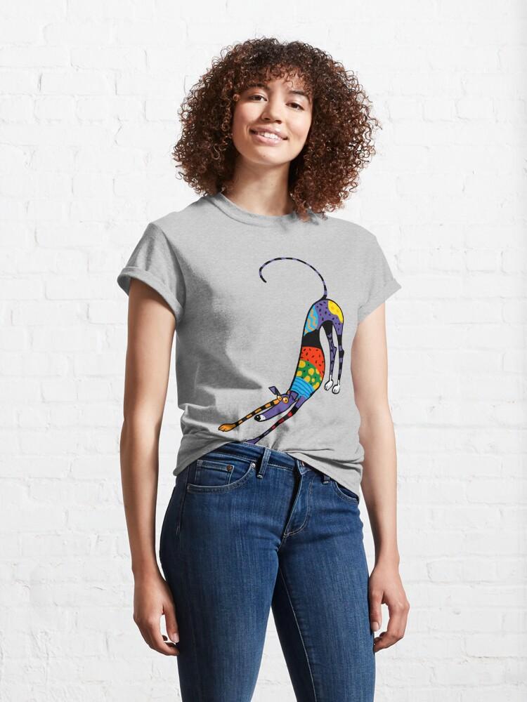 Alternate view of Kaleidoscope Bowdown Classic T-Shirt