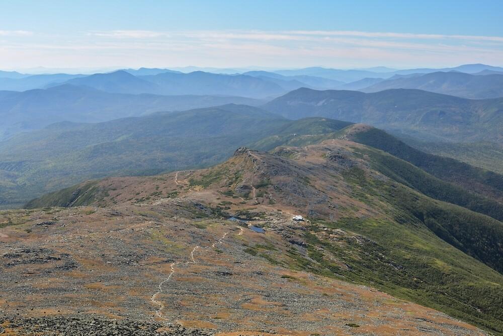 The Appalachian Trail through the Presidentials, New Hampshire. by mattmacpherson