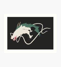 Spirited Away: Haku Art Print