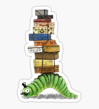 Monsieur Caterpillar Sticker