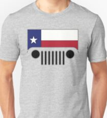 Texas Flag Jeep Logo Unisex T-Shirt