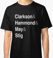 Clarkson & Hammond & May & Stig Classic T-Shirt