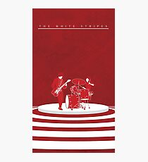 The White Stripes Tall Photographic Print