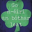 Irish Good Luck phrase by The Eighty-Sixth Floor