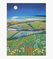 Summer's Night by the Sea Photographic Print