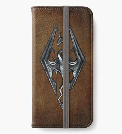 Skyrim Worn Leather Symbol iPhone Wallet/Case/Skin