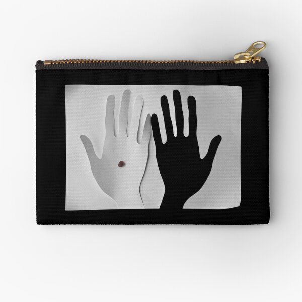 A shadow of your touch Zipper Pouch