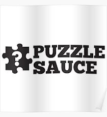 Puzzle Sauce Poster