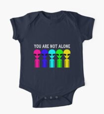 You Are Not Alone One Piece - Short Sleeve