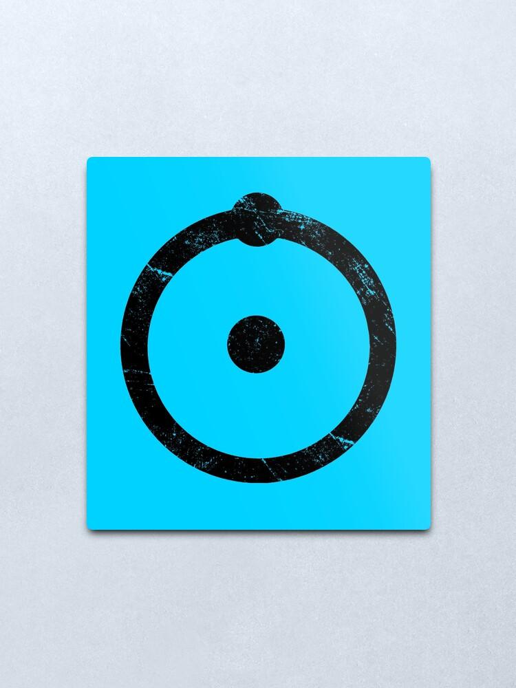 Watchmen Dr Manhattan Symbol Vinyl Decal Sticker