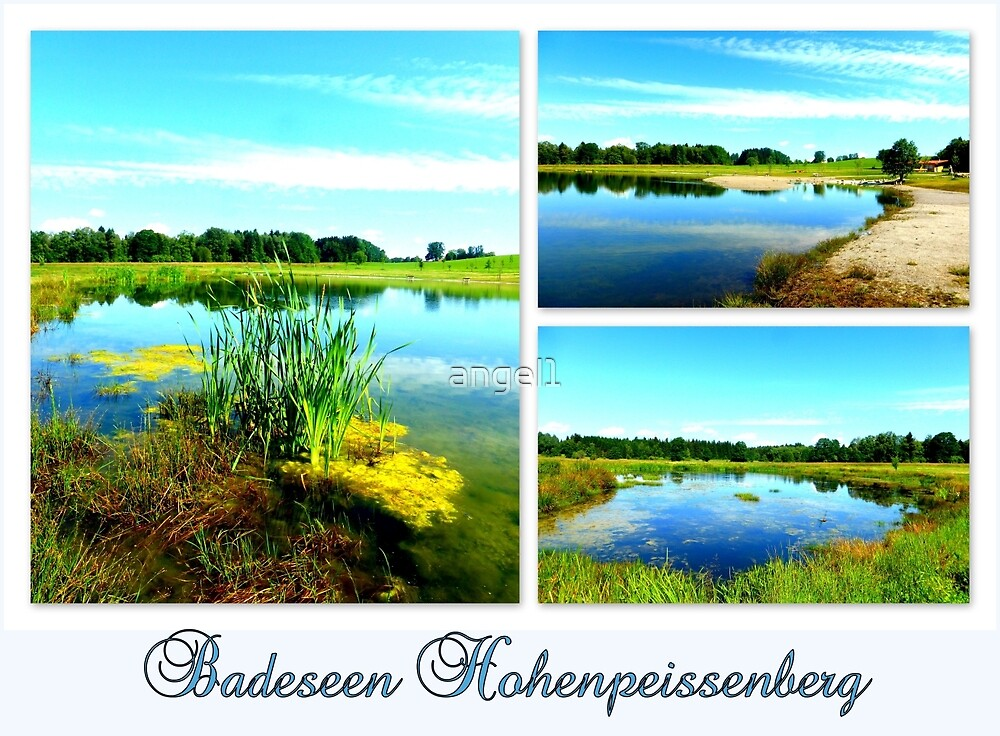 Badeseen Hohenpeissenberg by ©The Creative  Minds