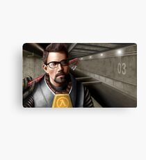 Half-life - Gordon Freeman Metal Print