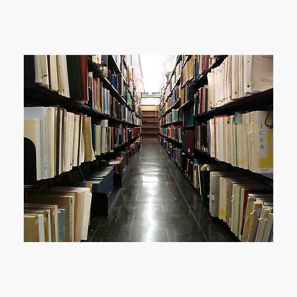 Alderman Library Stacks - UVA  ^ Photographic Print