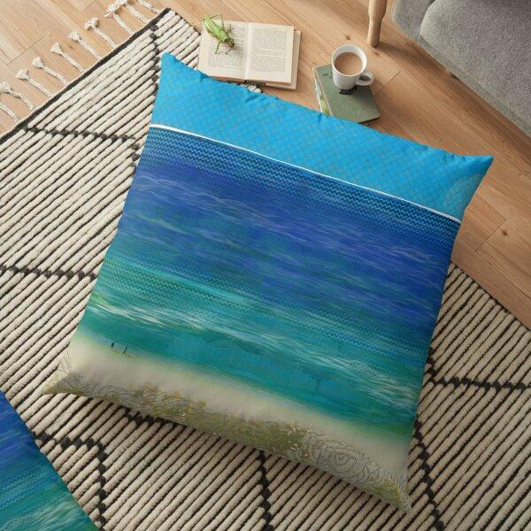 """""""Cotton Tree""""   Queensland, Australia Floor Pillow"""