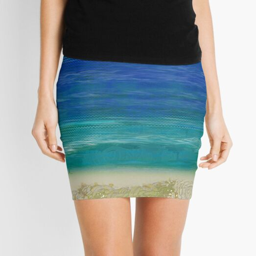 """Cotton Tree"" | Queensland, Australia Mini Skirt"