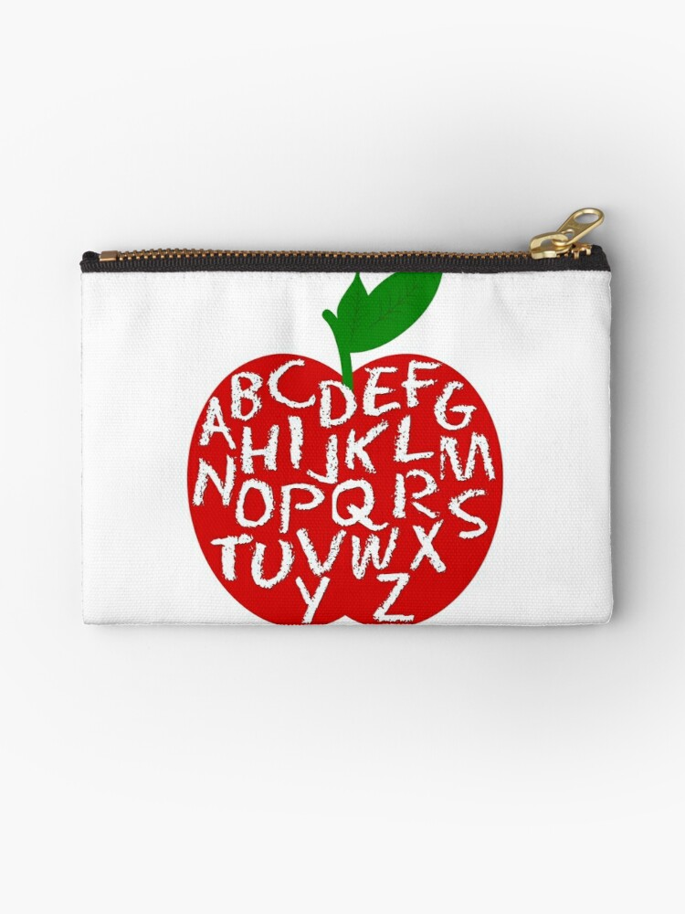 Apple Alphabet by Amy Pendergrass