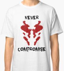Never Compromise Rorschach Watchmen Classic T-Shirt