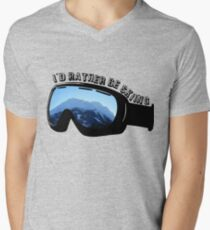 I'd Rather Be Skiing - Goggles T-Shirt