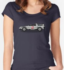Ghostbusters To The Future! Women's Fitted Scoop T-Shirt