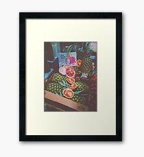Pineapple & Dragon Fruit Framed Print