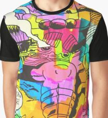 Galactus Goes Down Graphic T-Shirt