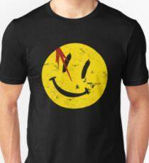 Watchmen Symbol Smile Vintage Unisex T-Shirt