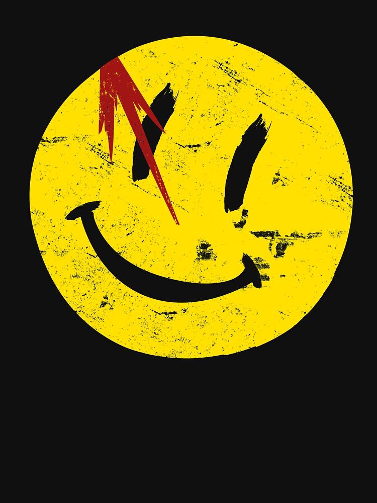 Watchmen Symbol Smile Vintage by Coccomedian