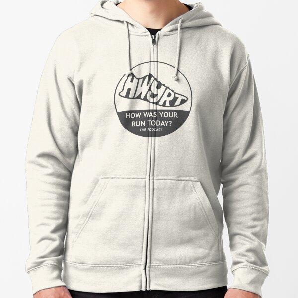 HWYRT 2016 logo/grey Zipped Hoodie