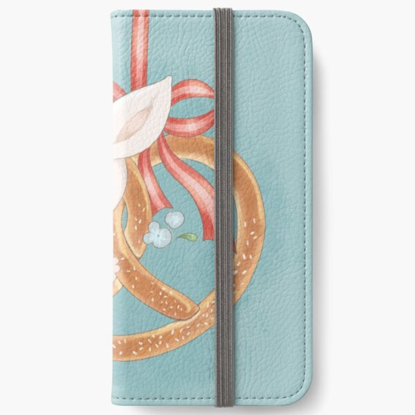 Me and my pretzel turquoise iPhone Wallet