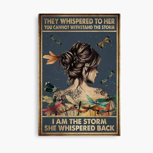 I Am The Strom Canvas Print