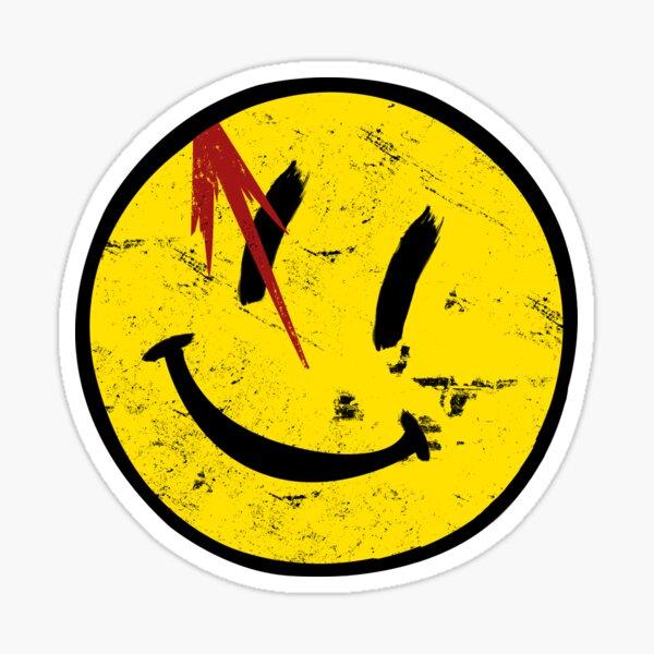 Watchmen Symbol Vintage Pegatina
