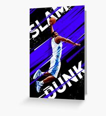 Slam Dunk Greeting Card