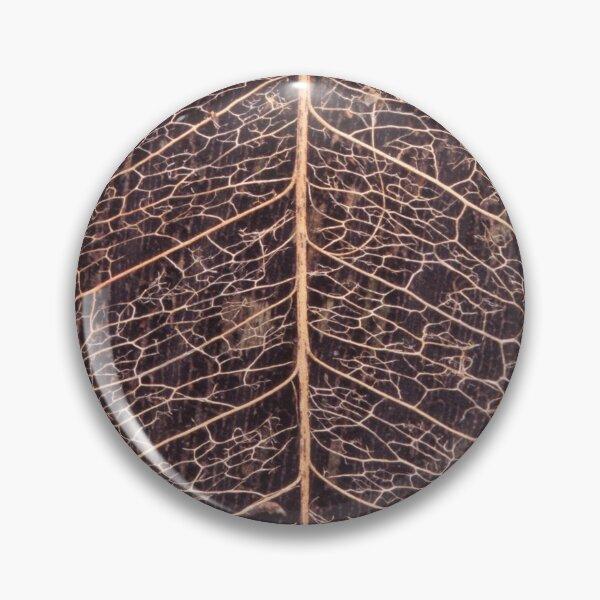 Fragile Leaf Skeleton Pin