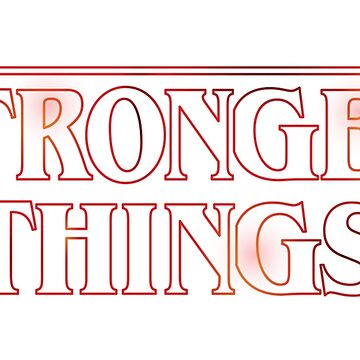 Stranger Things Fitness Stronger Things by carlhuber