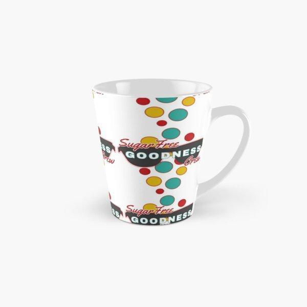 Sugar Free Goodness Crew | Colorful Dot Accessories |Fun | Expressive   Tall Mug